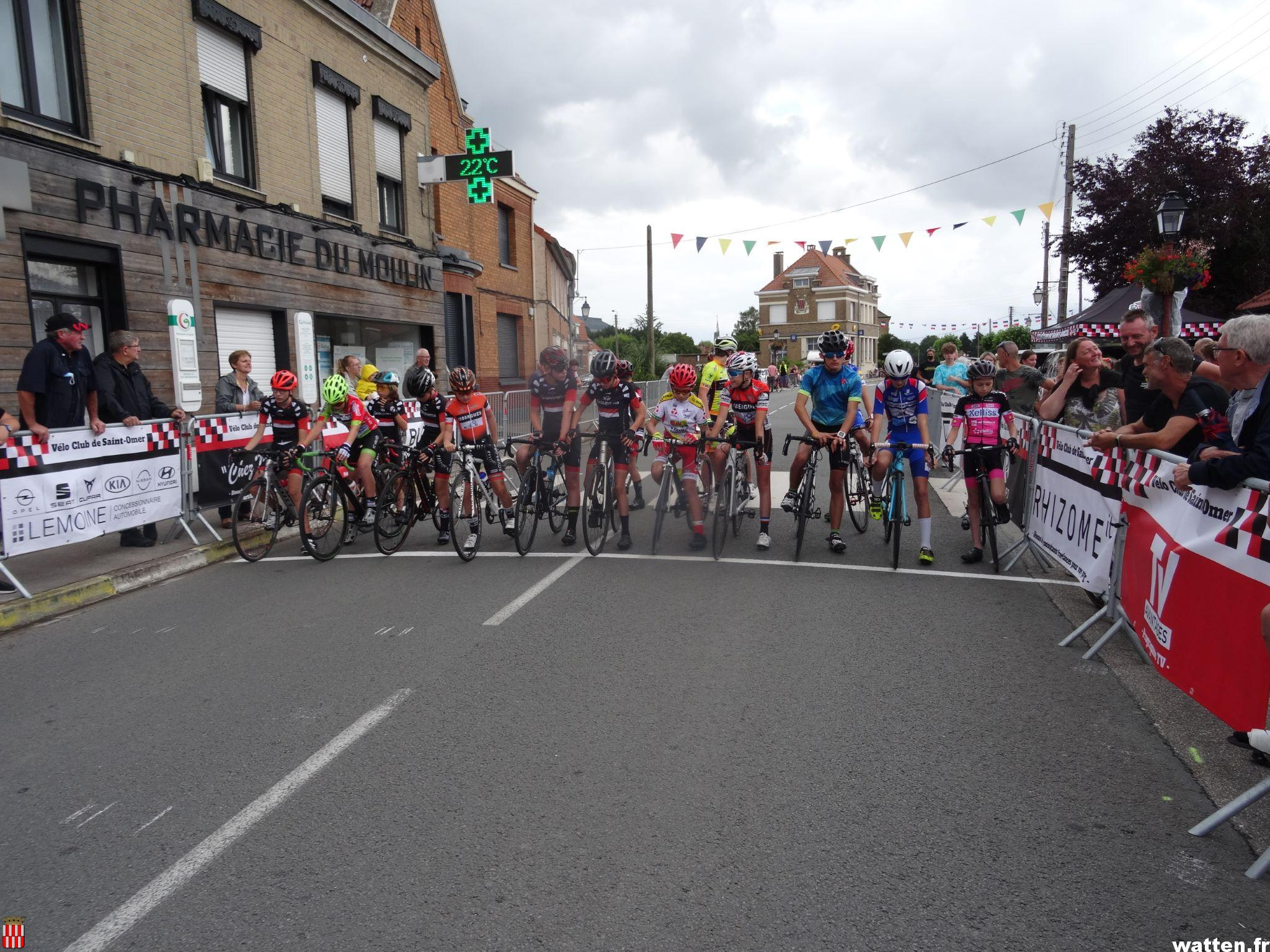 Retour en photos le Critérium cycliste Philippe Tacquez 2021