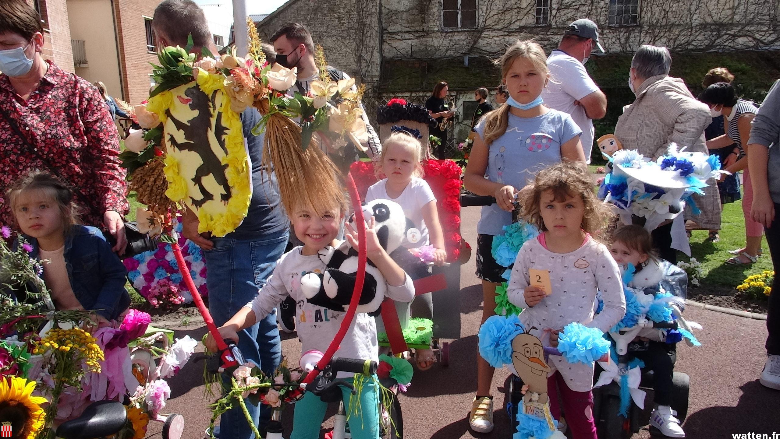 Des vélos fleuris pour la ducasse
